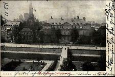 Strassburg Strasbour Elsaß Alsace CPA Statthalter-Palast AK nach Hassmersheim