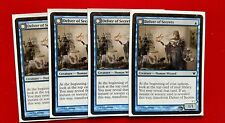mtg Blue Delver Of Secrets Aberrant Docent Fly Theme Deck With Box And Sleeves