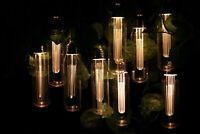 10 LED Solar Power Vintage Edison Bulb String Garden Fairy Lights Dual Function