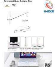 VETRO Angolo computer Apple iMac Monitor TV SCHERMO ALZATA MENSOLA SUPPORTO UK