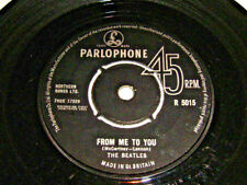 "7"" - Beatles from me to You & thank You Girl-UK 1963 Center # 6198"