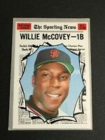 F59489  1970 Topps #450 Willie McCovey AS GIANTS