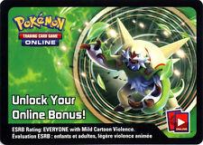 Pokemon Chesnaught Tin Promo Code Card for Pokemon TCG Online