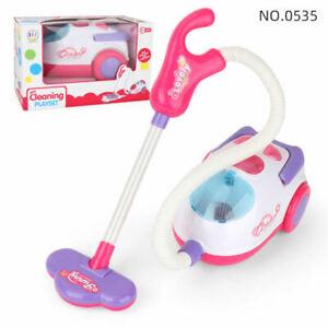 Kinderstaubsauger Sound & Saugfunktion Putzwagen Spielzeug Staubsauger Hot