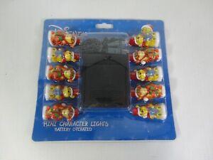 Disney Winnie The Pooh Tigger Battery Operated Christmas Xmas Tree Lights RARE