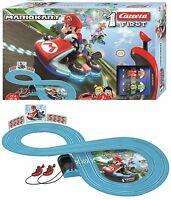 Wii Mario Kart RC IR Radio Remote Control Slot Car Race Track Ages 3+ Carrera