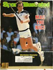 July 16, 1984 John McEnroe Sports Illustrated Magazine