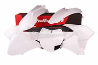 Polisport Enduro Plastics Kit for KTM EXCF EXC 250 2014 2015 2016 white 90645