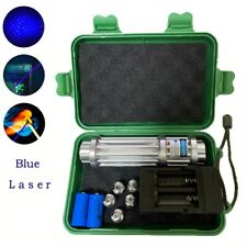 Hot! High Power 5000000m Blue Laser Pointers 450nm Lazer Flashlight Burning With