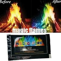 Mystical Fire Powder Magic Dust Creates Colours in Flames Light Show Burn