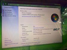 "New listing Acer Aspire 5534-1121 15 6"" Dvd-Rw Barebones Laptop Clean Plastics Webcam."
