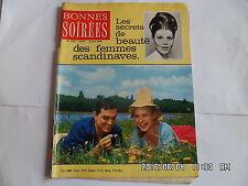 BONNES SOIREES N°2216 02/08/1964 ALICE DONA GREGORY PECK OMAR SHARIF         G24