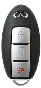 New Prox Fob Smart Key FX35 FX50 EX35 2008-2013 / QX50 14-16 3-Btn A+++