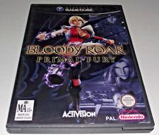 Bloody Roar Primal Fury Nintendo Gamecube PAL *Complete*