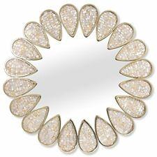 Jonathan Adler Abalone Shell Petal Mirror Home Decor