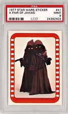 1977 Topps Star Wars sticker #41 PSA 9