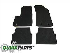 2012-2014 Dodge Avenger Black Floor Slush Mats All Season Set Of 4 OEM NEW MOPAR