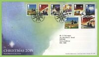 G.B. 2015 Christmas set on Royal Mail First Day Cover, Tallents House