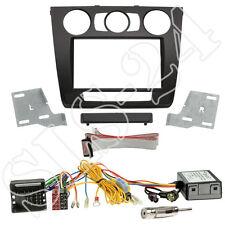 BMW 1er E81 E82 E87 E88 2-DIN Blende FACELIFT ab07 MAN. KLIMA+CAN-BUS Adapter