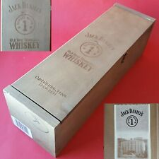 1994 Jack Daniel's Barrelhouse 1 Old Time Tennessee Whiskey Empty Wooden Box