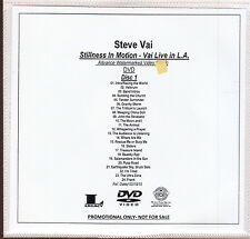steve vai limited edition 2x dvd