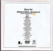 steve vai stillness in motion - vai live in L. A. 2x dvd