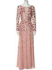 Temperley London Sequin Print Chiffon Dress, $2,795, NWT, Size US 2, UK 6
