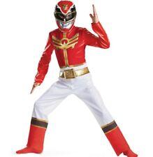 Power Rangers Size 7- 8 Medium Megaforce Red Standard Child Costume New