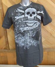 Calcutta Mens Kickback Skull T-shirt Tee Size M ~ New