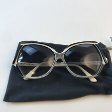 New listing Vintage Revelli By Renaissance Sunglasses Made In France Retro Winter White