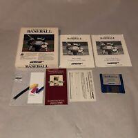 UNTESTED Championship Baseball Commodore Amiga Game Complete ICB Vintage Sports