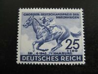 THIRD REICH Mi. #814 mint MNH Blaues Band Horse Race stamp! CV $26.50