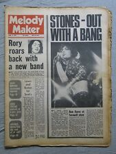 MELODY MAKER 3rd April 1971 ~ Rolling Stones ~ Rory Gallagher ~ Frank Sinatra!