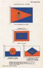 ROYAL NETHERLANDS AIR FORCE FLAGS. Chief of Air Staff. Air Defence Command 1958