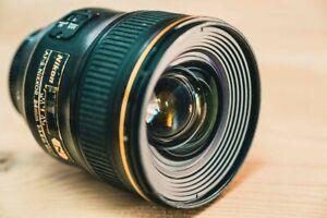 Nikon AF-S Nikkor 24mm 1.4 G ED OBJEKTIV LENS.
