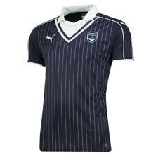 Maillot de football de clubs français bleu taille S