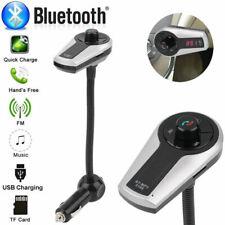 Bluetooth FM Transmitter Car Charger Port Wireless MP3 Player Adapter HT