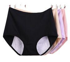 2, 5 Pack Women's Menstrual Period Panties Ladies Cotton Underwear Plus Size 18