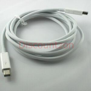 Original Apple Thunderbolt Cable 2.0 m White A1410 for iMac/MacBook Pro/Air