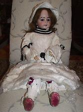 Antique Bisque Doll  Porcelain Head, German