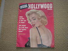 MARILYN MONROE DENTRO ANUAL DE HOLLYWOOD #1 1955 EE.UU MAG JOE MAYO CUBIERTA