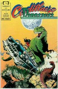 Cadillacs and Dinosaurs # 1 (USA, 1990)