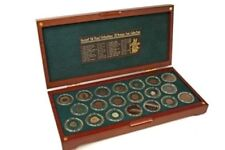 Ancient Silk Road: 20 Bronze Coin Collection