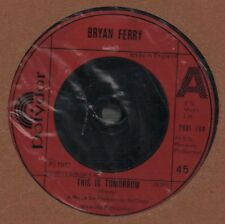 """Bryan Ferry(7"""" Vinyl)This Is Tomorrow/ As The World Tunrs-Polydor-2001 -VG/VG"""