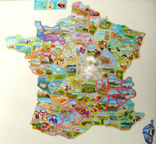 Magnets Le Gaulois Départ'aimants Carte Complète lot de 92 magnets