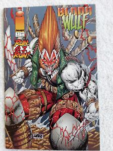 Bloodwulf #1 (Feb 1995, Image) First Printing VF+