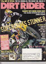 DIRT RIDER - April 1997 - Greg Albertyn / Acerbis Incas Rally / GFI & Chaparral