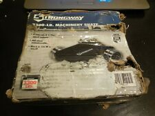 Strongway 3300lb. Machinery Skate #52417  Free USA Shipping!
