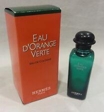 Eau D'orange Verte Hermes Pour Homme Man Uomo Profumo EDT MINIATURA Mignon 7,5ml