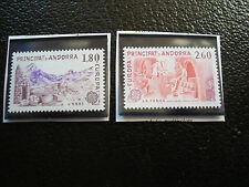 ANDORRE (francais) - timbre yvert et tellier n° 313 314 n** (A22) stamp andorra